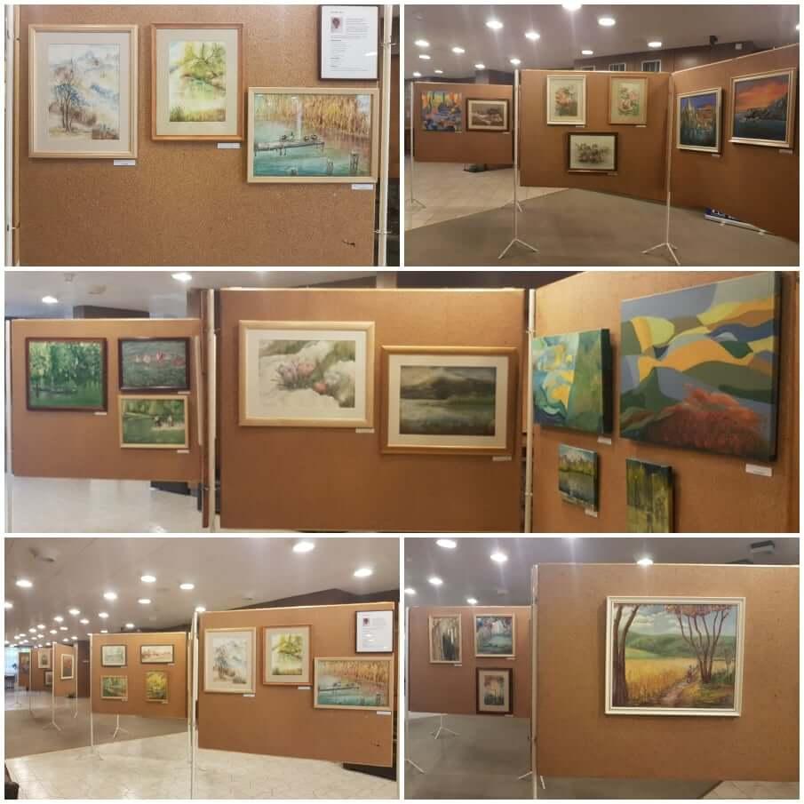 Mohainé Néri festménykiállítása